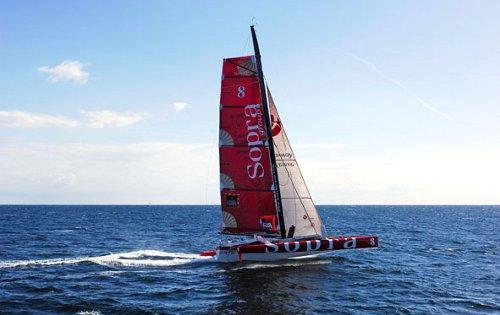 Racing Trimaran SOPRA - Sailing 2