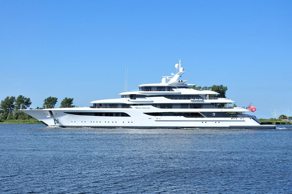 Yacht Royal Romance A Feadship Superyacht Charterworld Luxury