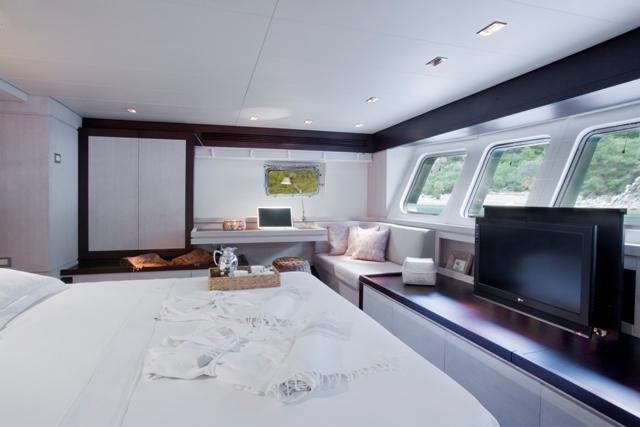 SAILING NOUR - Master Cabin 2