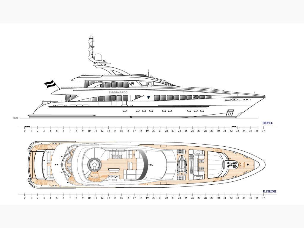 SAN BERNARDO -  Deck Plan