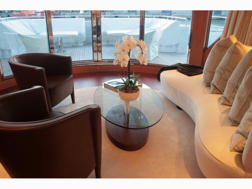 SAN BERNARDO -  Main Salon Aft Seating