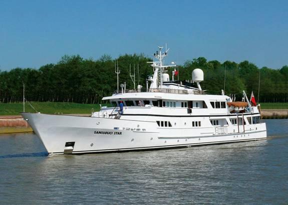 SANSSOUCI STAR - Yacht Profile