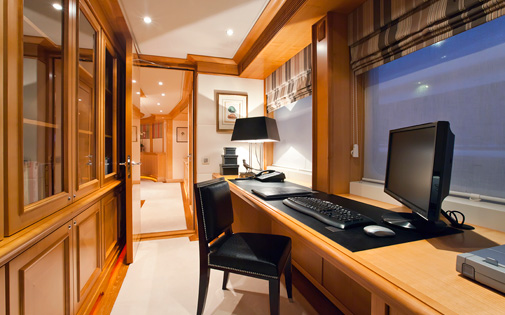 Master Cabin Study