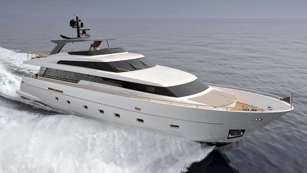 SL104 luxury motor yacht Indigo