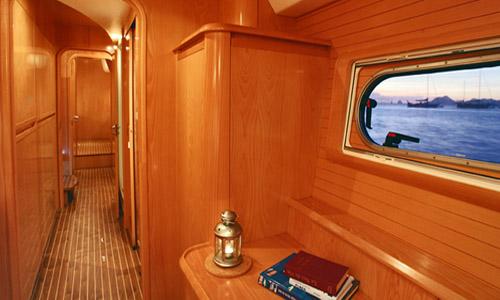 SY OCEAN MED - Cabin hall