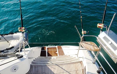 SY OCEAN MED - Swim platform