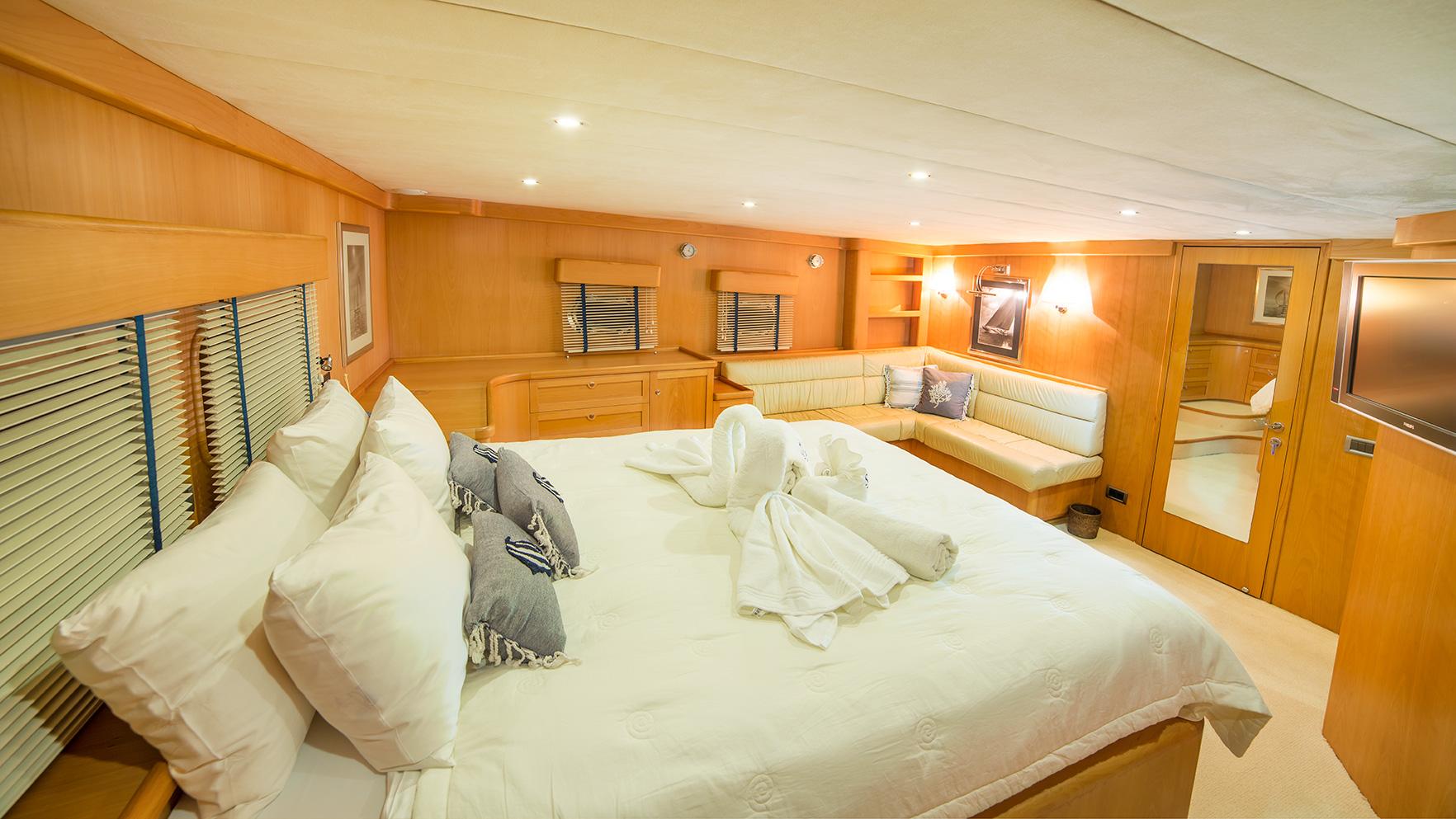 SY SEA COMET - Master cabin 2