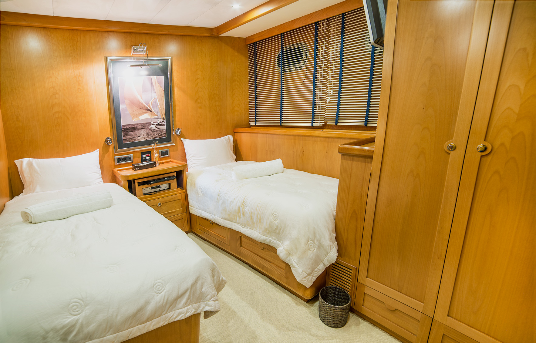 SY SEA COMET - Twin cabin