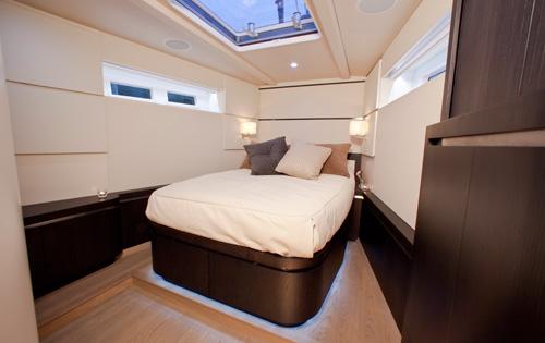 Sail Yacht AEGIR - Master Cabin