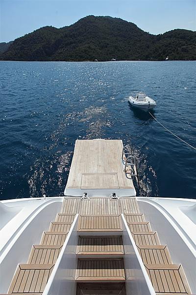 Sail Yacht ANGELO II -  Swim Platform