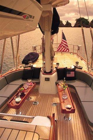 Sail Yacht AVALON -  Cockpit