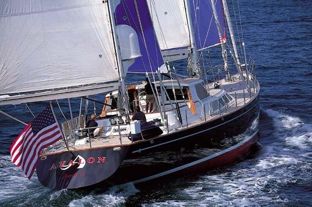 Sail Yacht AVALON -  Sailing