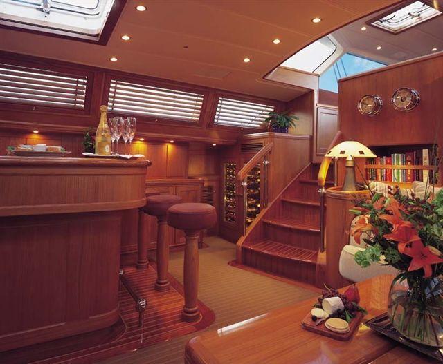 Sail Yacht AVALON -  Salon Wine Bar