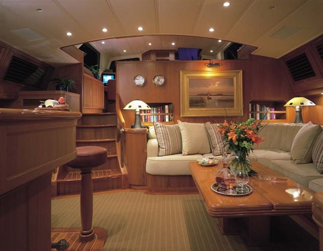 Sail Yacht AVALON -  Salon