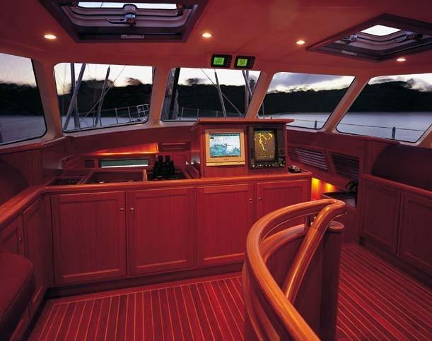 Sail Yacht AVALON -  Wheelhouse