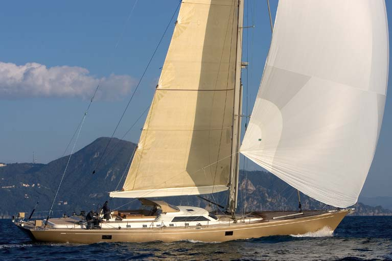 Sail Yacht DHARMA -  Sailing with Spinaker