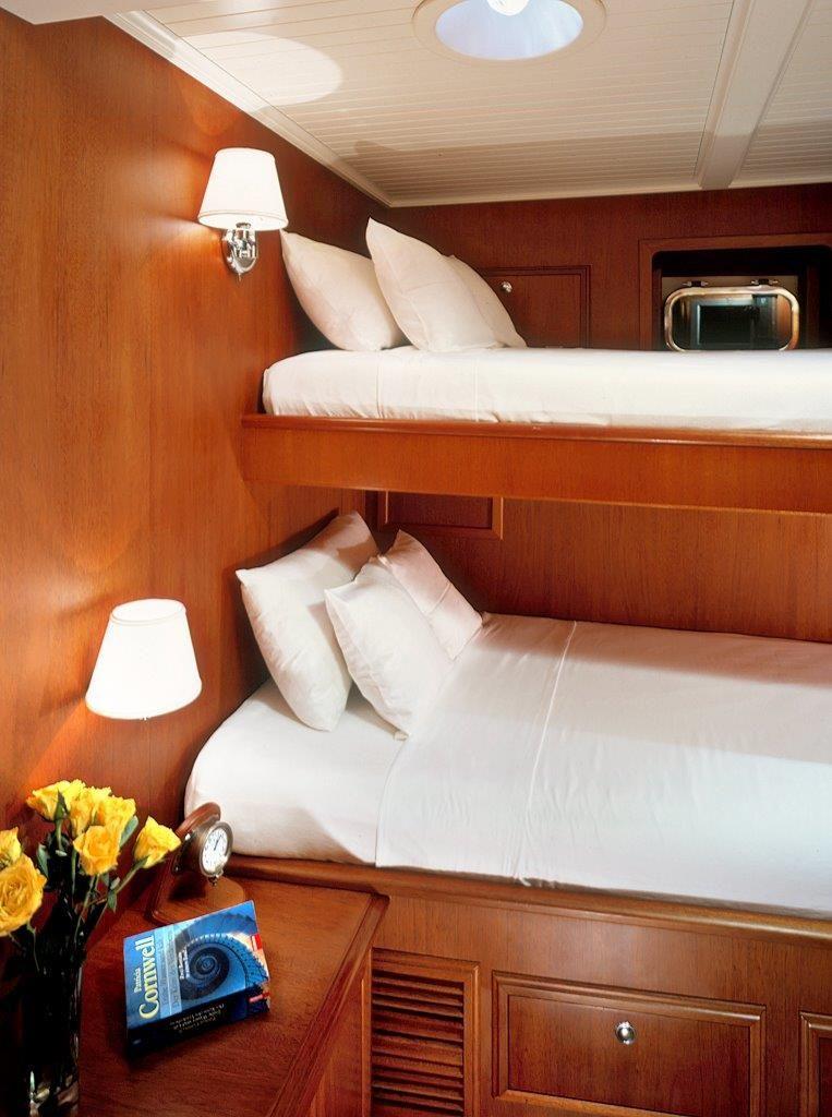 Sail Yacht DOLPHIN - Twin Cabin