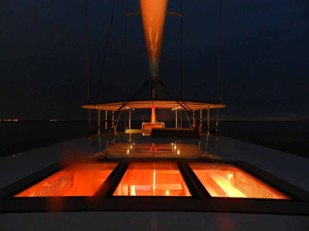 Sail Yacht DOMICIL -  At Night