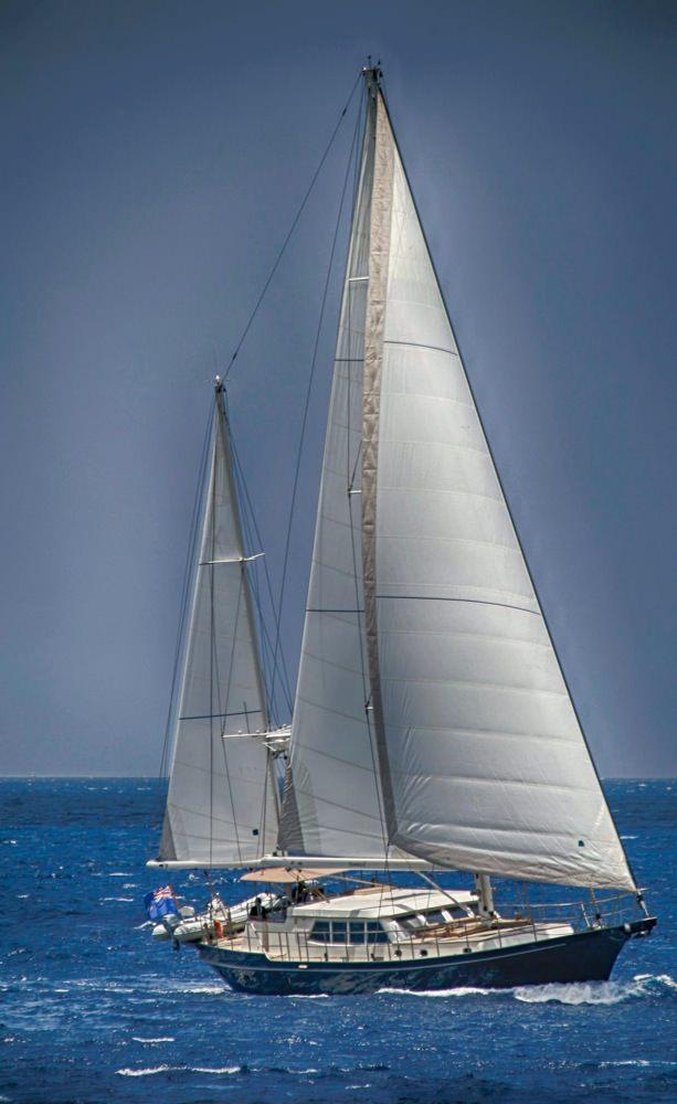 Sail Yacht DOMICIL - Sailing