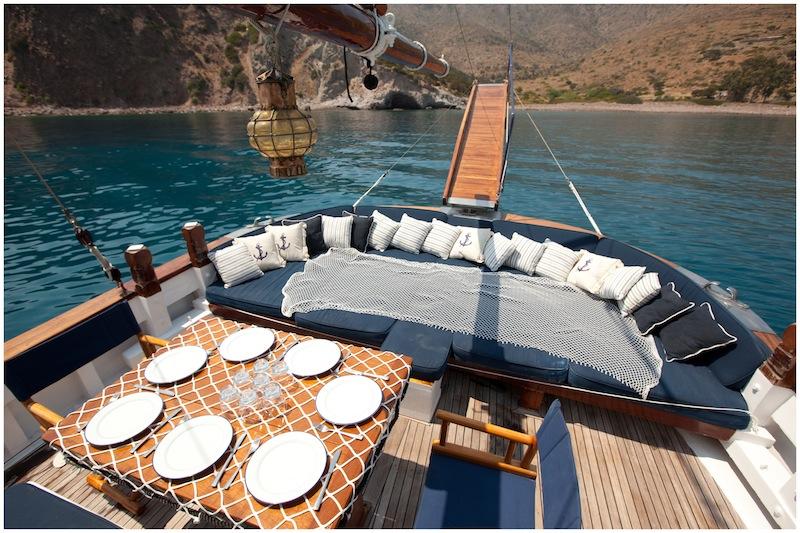 Sail Yacht ELEFTHERIA -  Al Fresco Dining