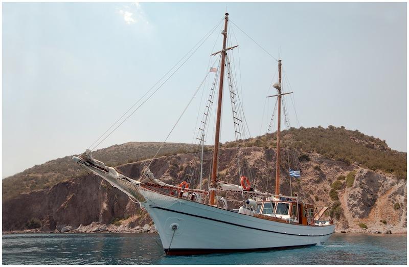 Sail Yacht ELEFTHERIA -  At ANchor
