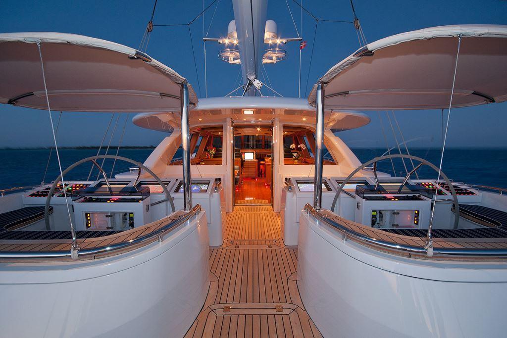 Sail Yacht HYPERION -  Cockpit