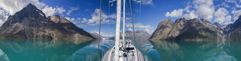Sail Yacht INFINITY -  Panoramic View