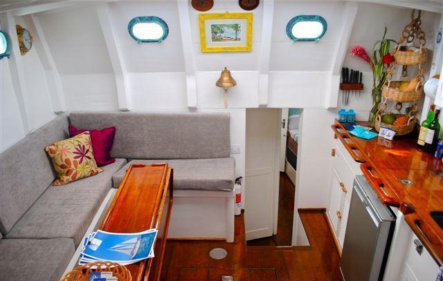Sail Yacht JAMBALAYA -  Galley and Dining