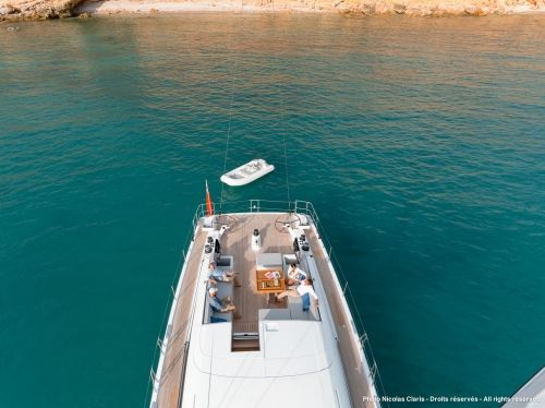 Sail Yacht LEO -  From Above