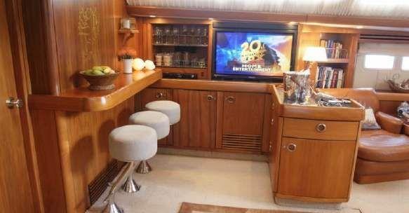 Sail Yacht LETIZIA -  Salon and Bar