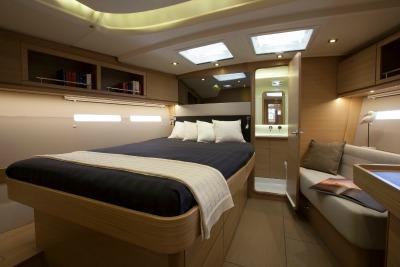 Sail Yacht MIMOSA - Master Cabin 2