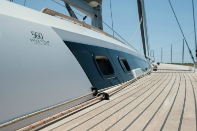 Sail Yacht MIMOSA - Side Deck