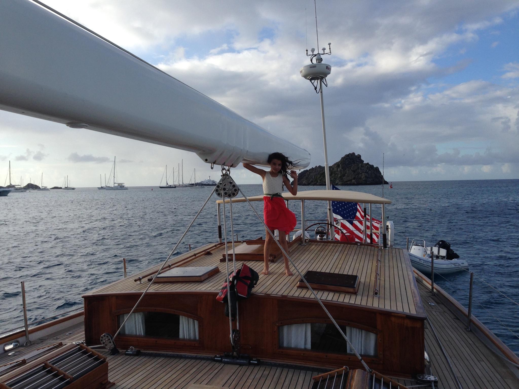 Sail Yacht NORTHERN STAR - Deck