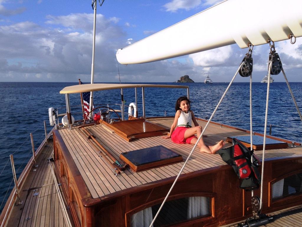 Sail Yacht NORTHERN STAR - On deck