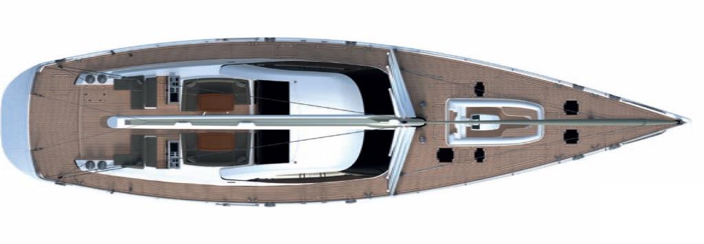 Sail Yacht PENELOPE -  Deck Plan