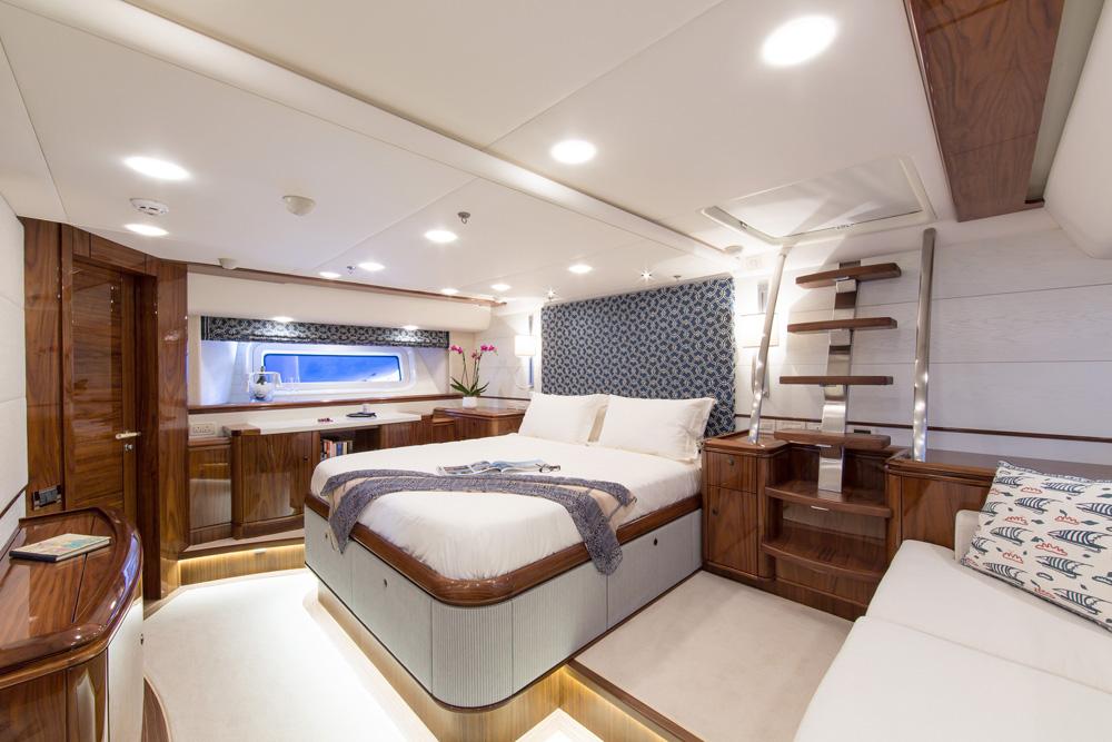 Sail Yacht PENELOPE -  Master Cabin