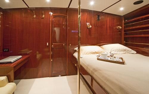 Sail Yacht PK BOO II - Master Cabin