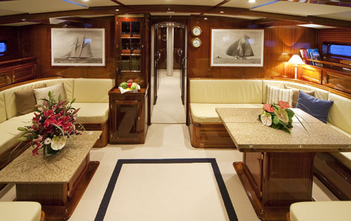 Sail Yacht PK BOO II - Salon 2