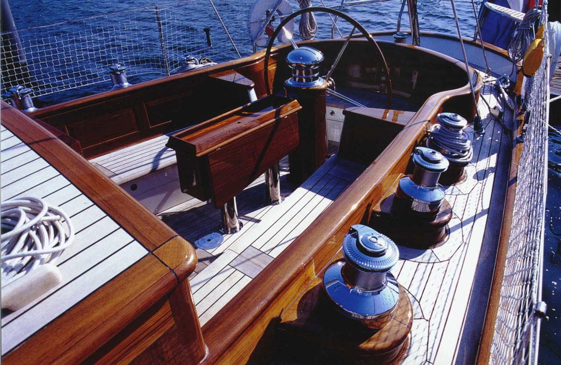 Sail Yacht WINDROSE -  Cockpit