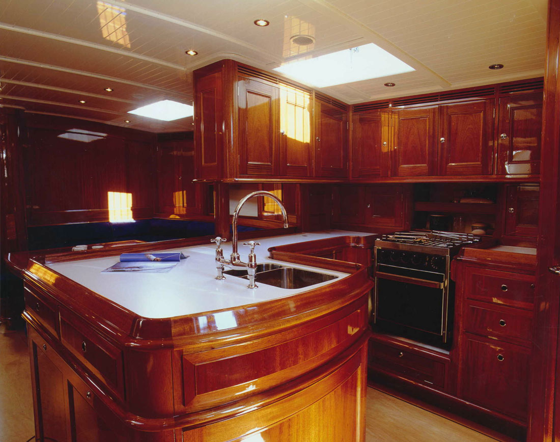 Sail Yacht WINDROSE -  Galley