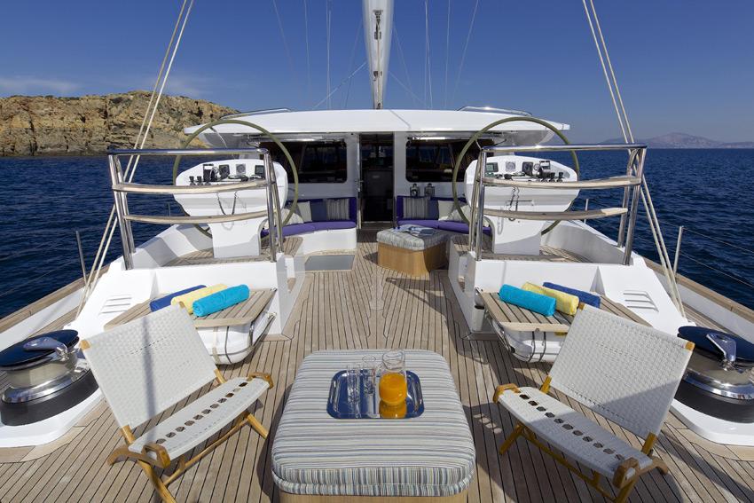 Sail yacht ALLURE -  Main Deck