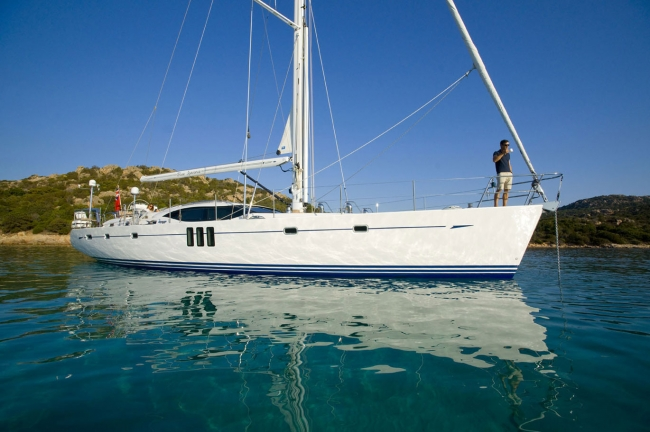 Sail yacht DELICIA -  Main