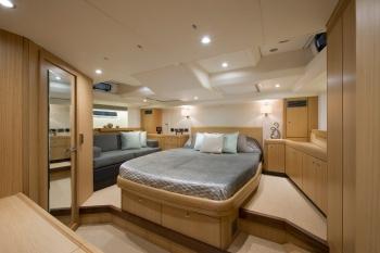 Sail yacht DELICIA -  Master Cabin