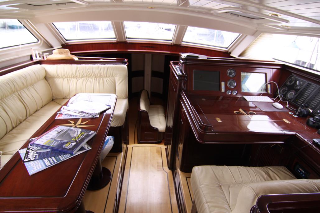 Sail yacht JAN DE VRIES -  Upper Salon