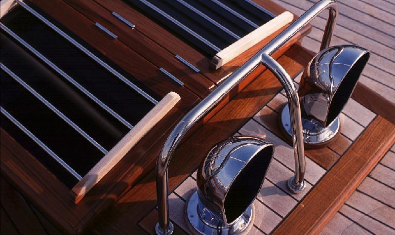 Sail yacht LADY ANN -  Deck detial