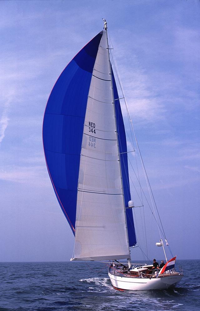 Sail yacht LADY ANN -  Sailing