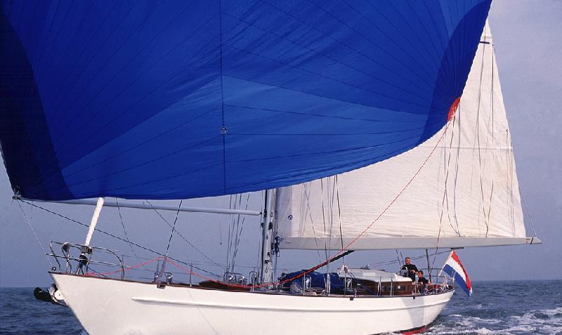 Sail yacht LADY ANN -  Spinaker