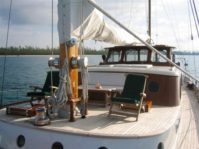 Sail yacht SEA DIAMOND - Deck
