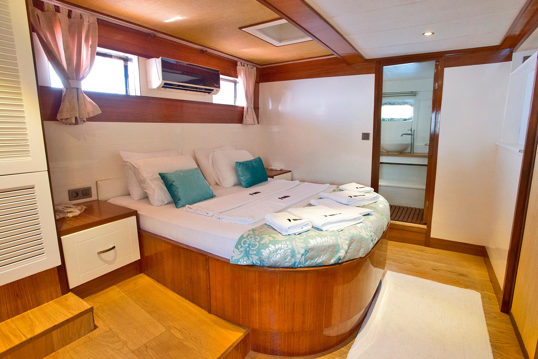Sailing Gulet MASKE 2 - Guest suite double
