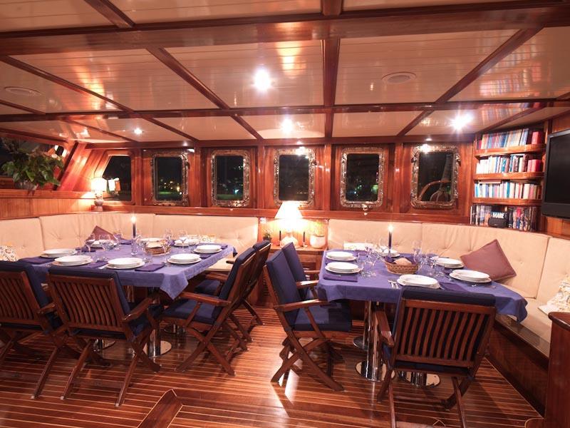Sailing Gulet MYRA -  Dining 2
